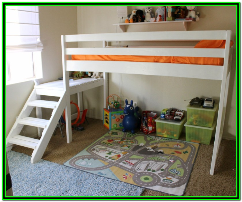 Ana White Twin Over Full Bunk Bed Plans