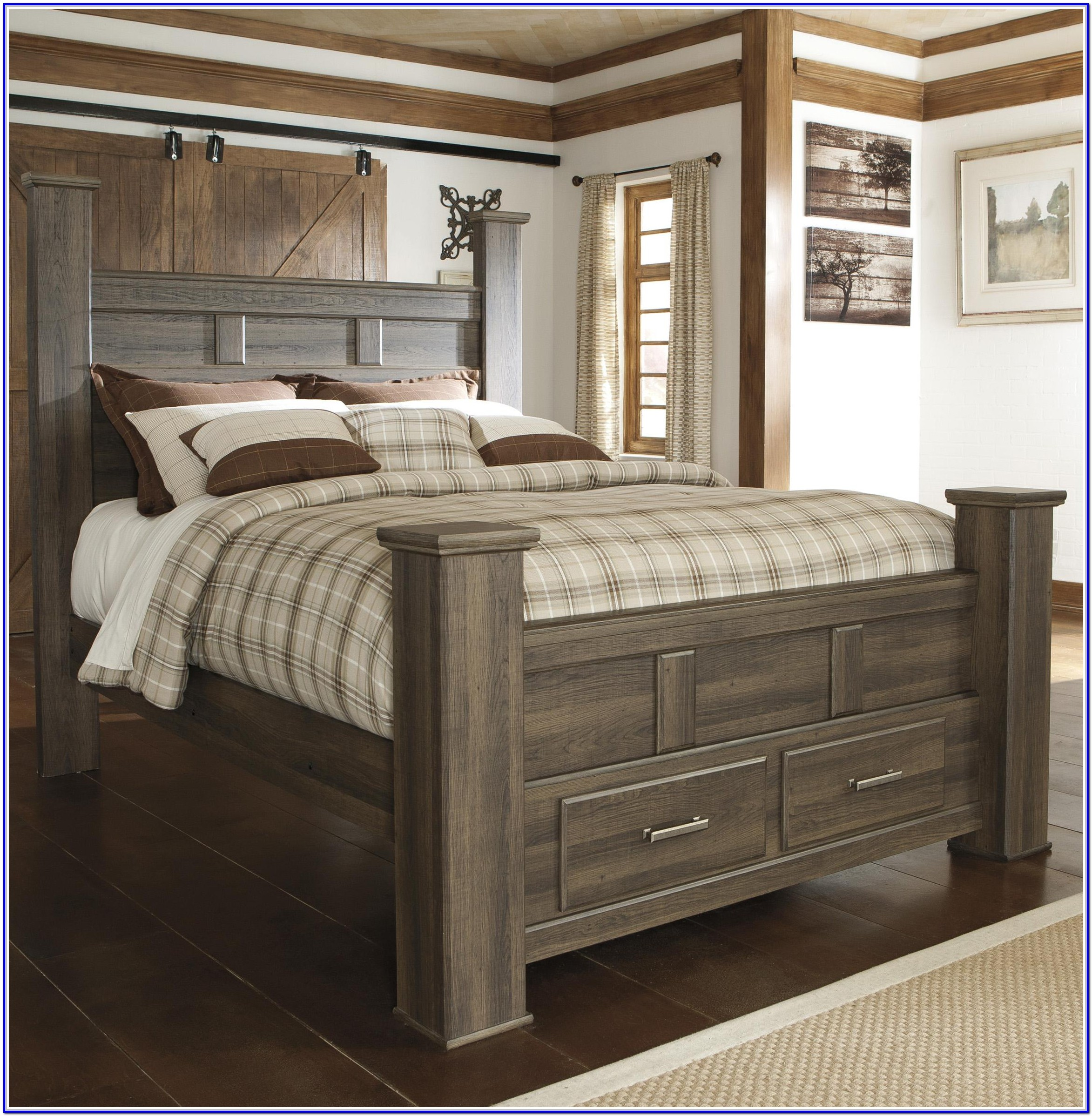 Ashley Furniture Full Size Storage Bed