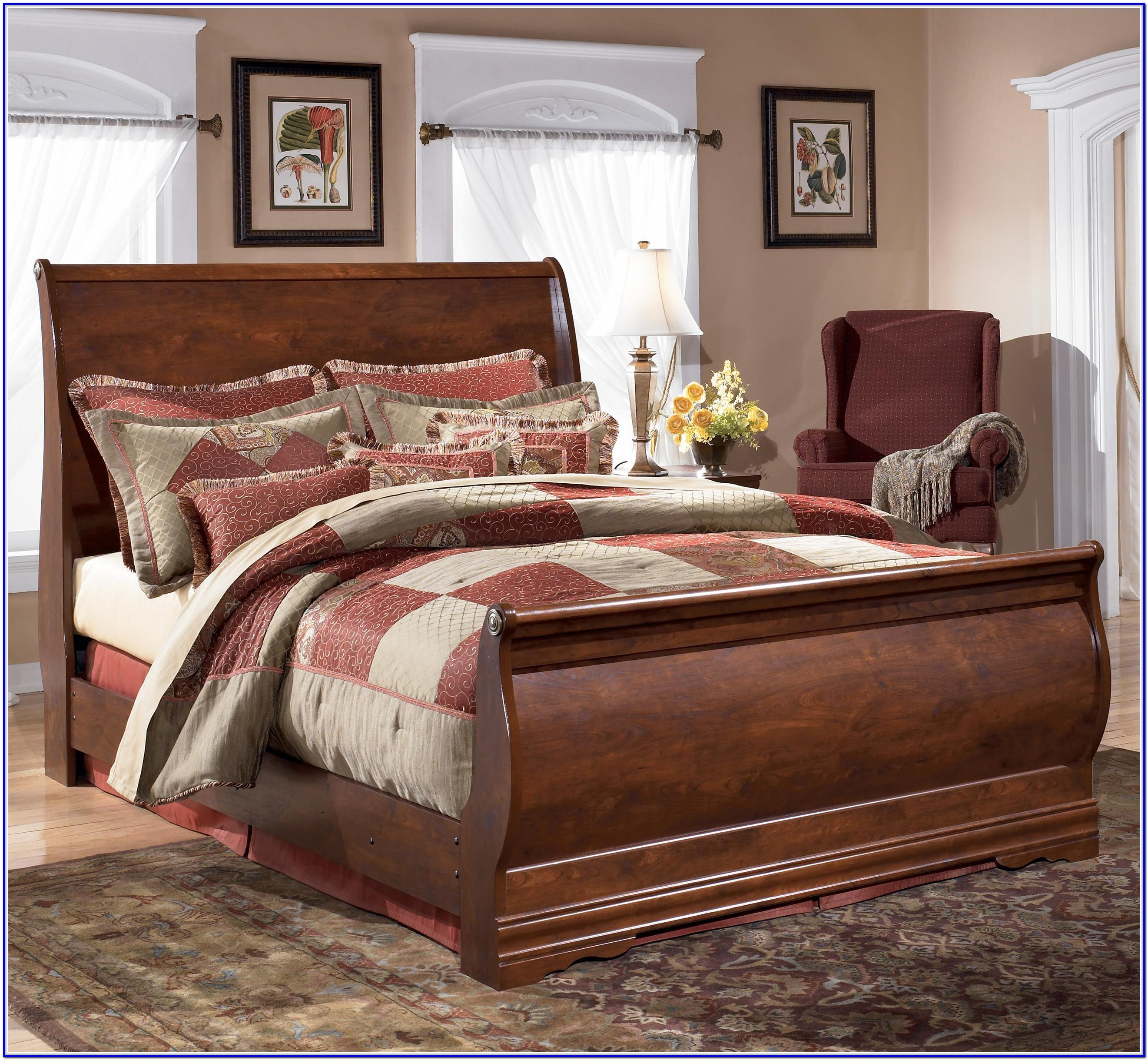 Ashley Furniture King Size Bed With Drawers