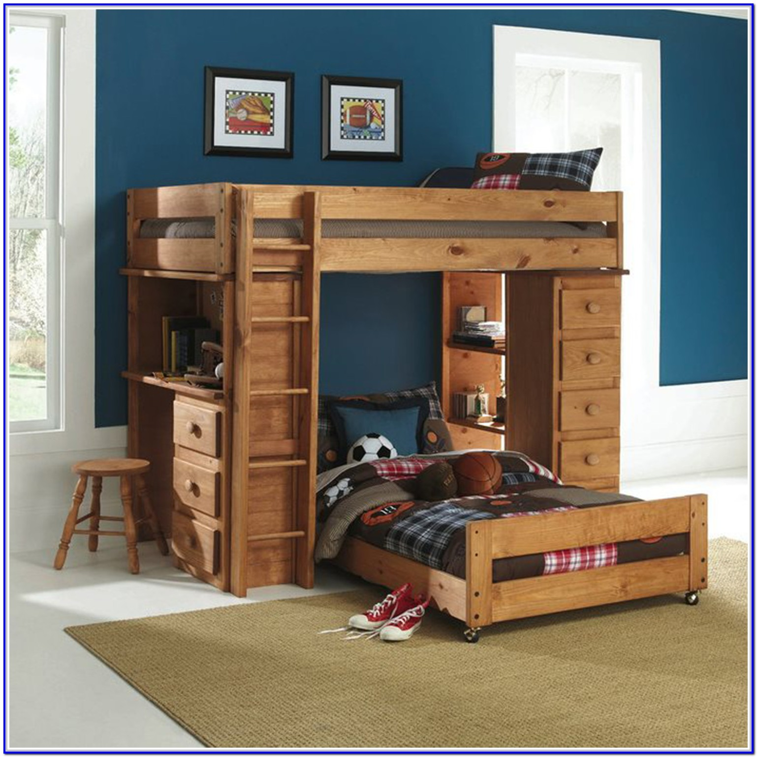 Ashley Furniture Loft Bed With Desk