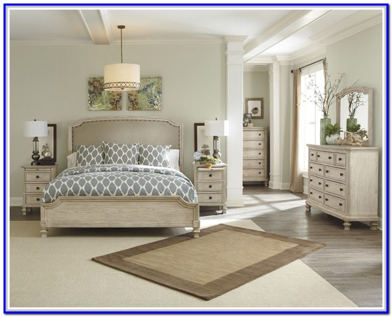 Ashley Furniture White Bedroom Set