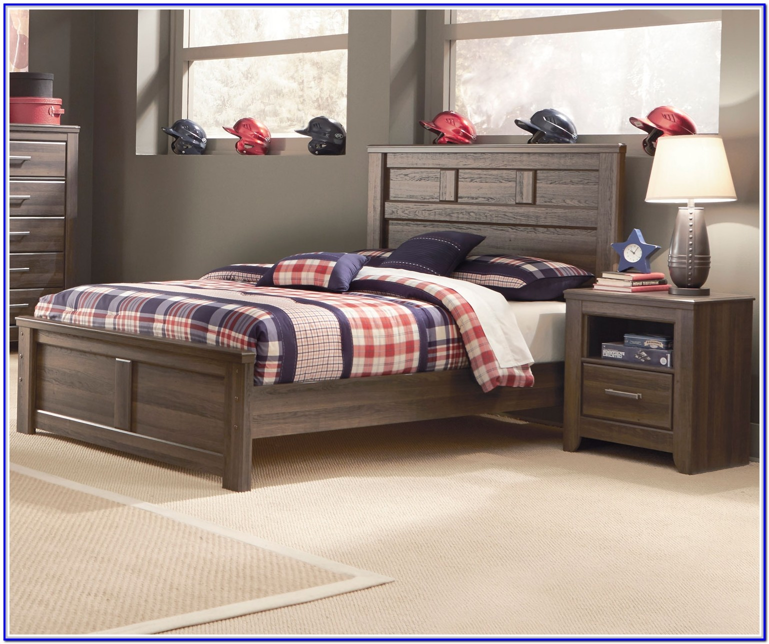 Ashley Furniture White Full Size Bed