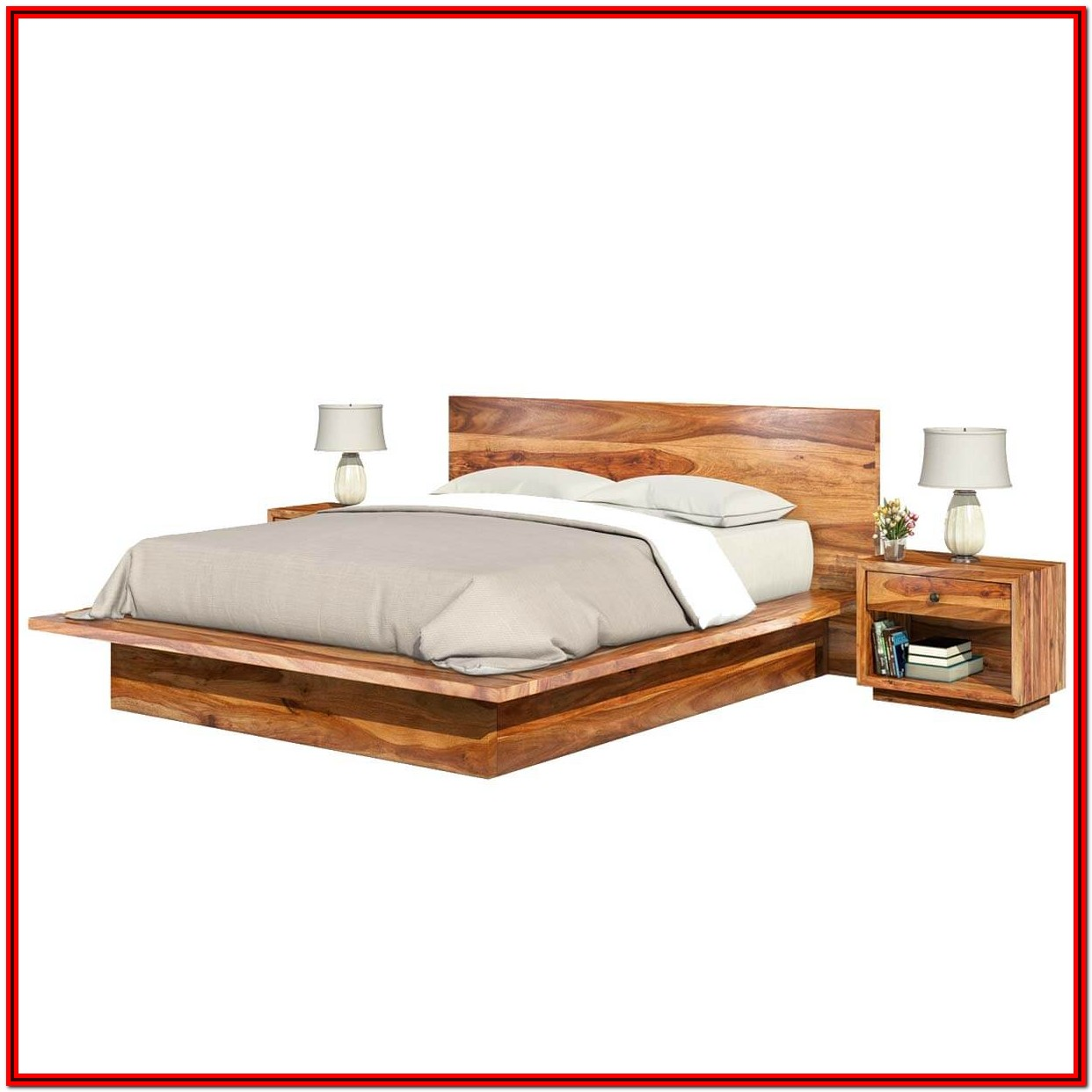 Bed Frames King Size Wood