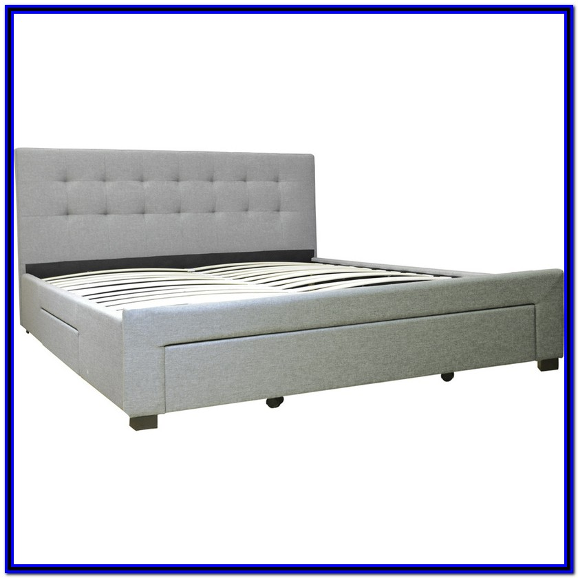 Bed Frames With Drawers Double