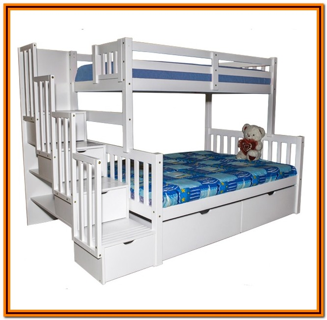 Bunk Bed Twin Over Full Stairs