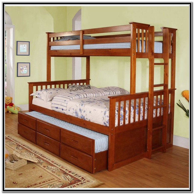 Bunk Beds Twin Over Queen With Trundle