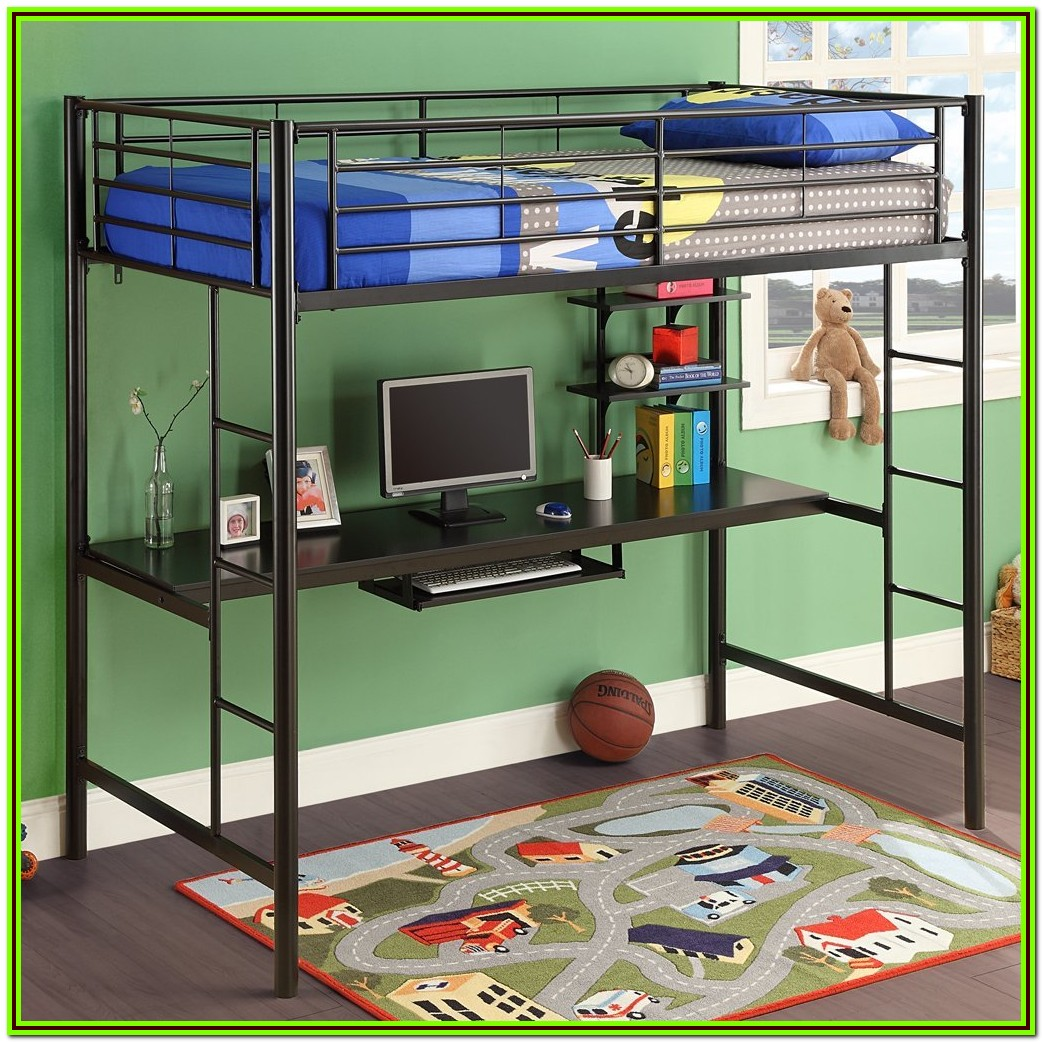 Bunk Beds With Desk Underneath Ideas