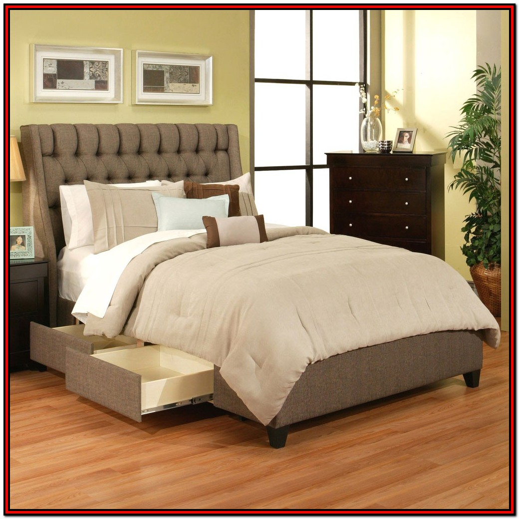 Cal King Bed Frames With Storage