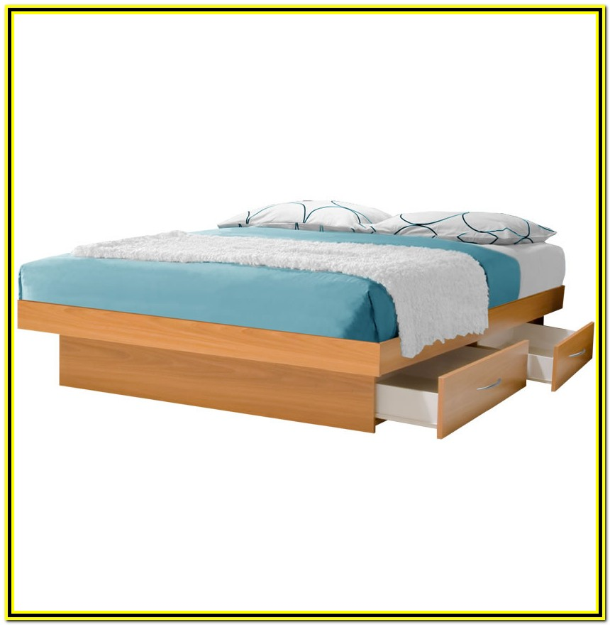 California King Bed Frames With Drawers