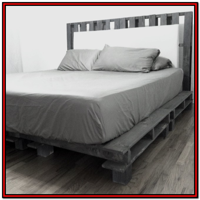 California King Platform Bed Frame Diy