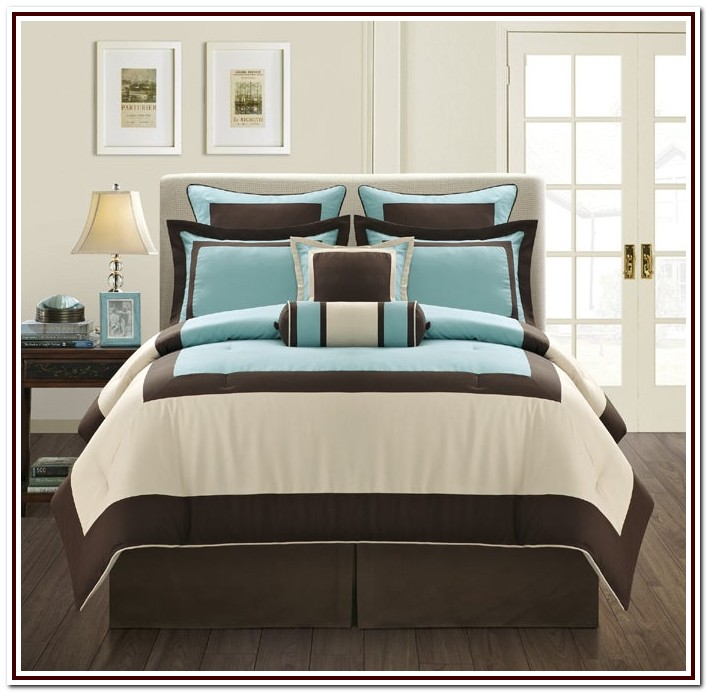 California King Size Bed In A Bag Sets
