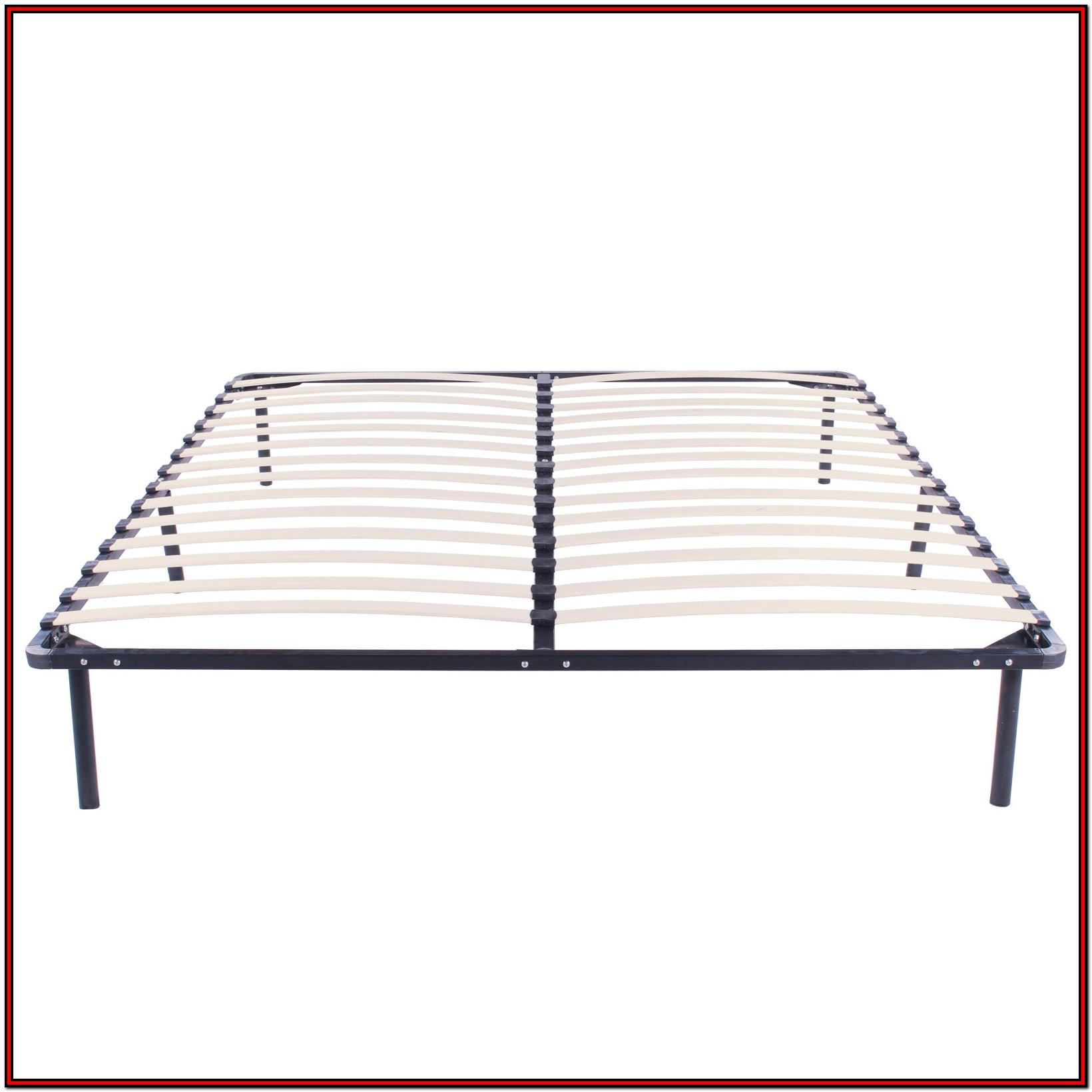 California King Slatted Bed Frame