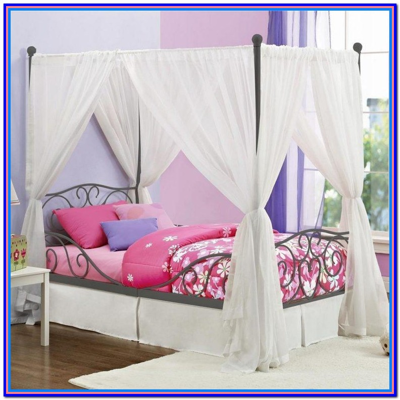 Canopy Bed Drapes Diy