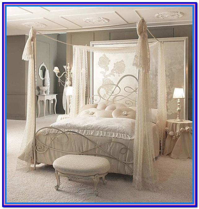 Canopy Bed Drapes Ideas