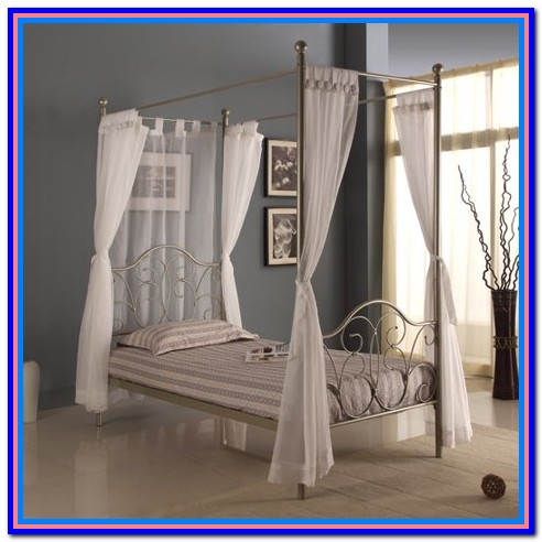 Canopy Bed Drapes Walmart