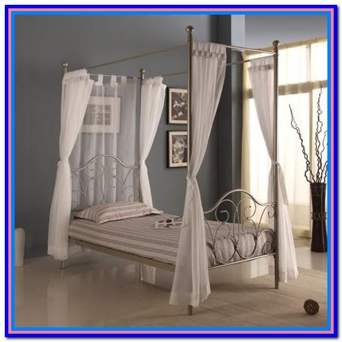 Canopy Bed Drapes Walmart