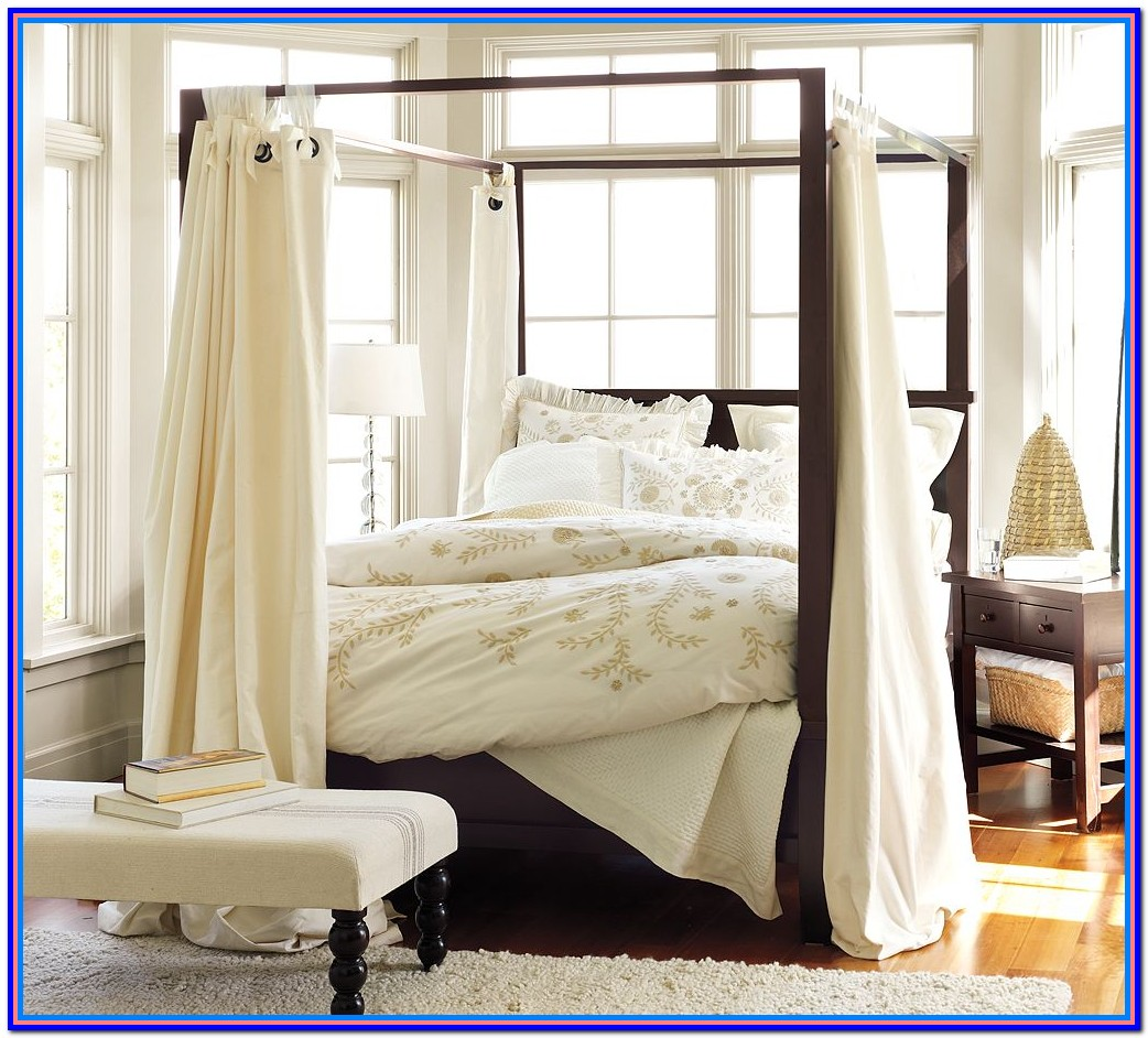 Canopy Beds With Curtains