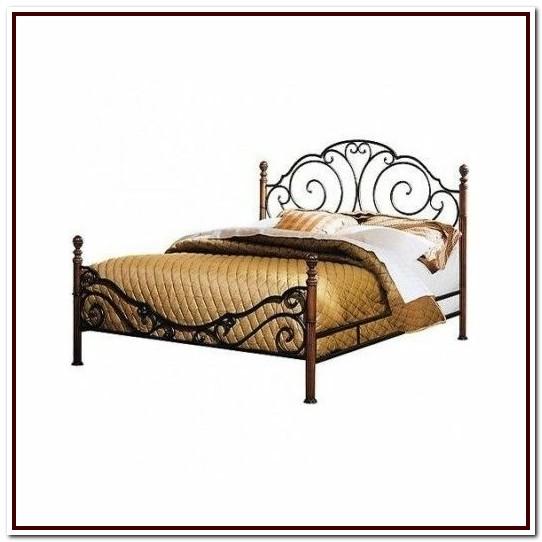 Cast Iron Bed Frame Antique