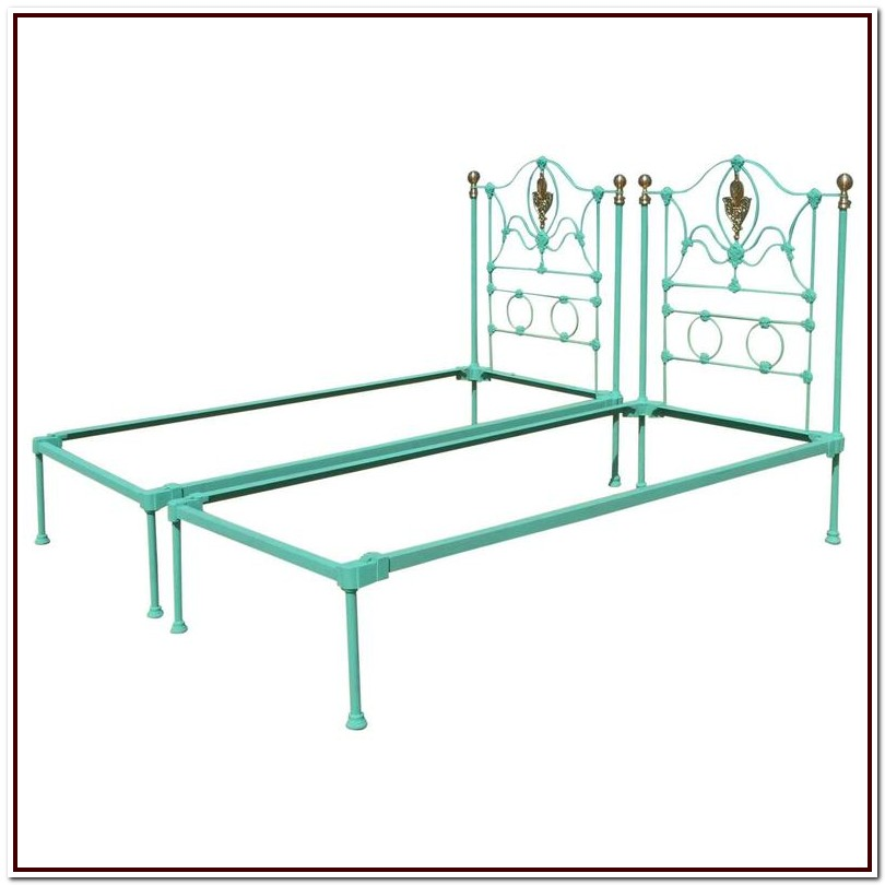 Cast Iron Bed Frame Twin