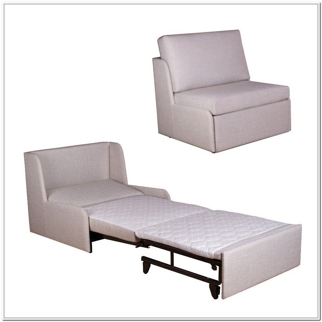 Chair Turns To Twin Bed