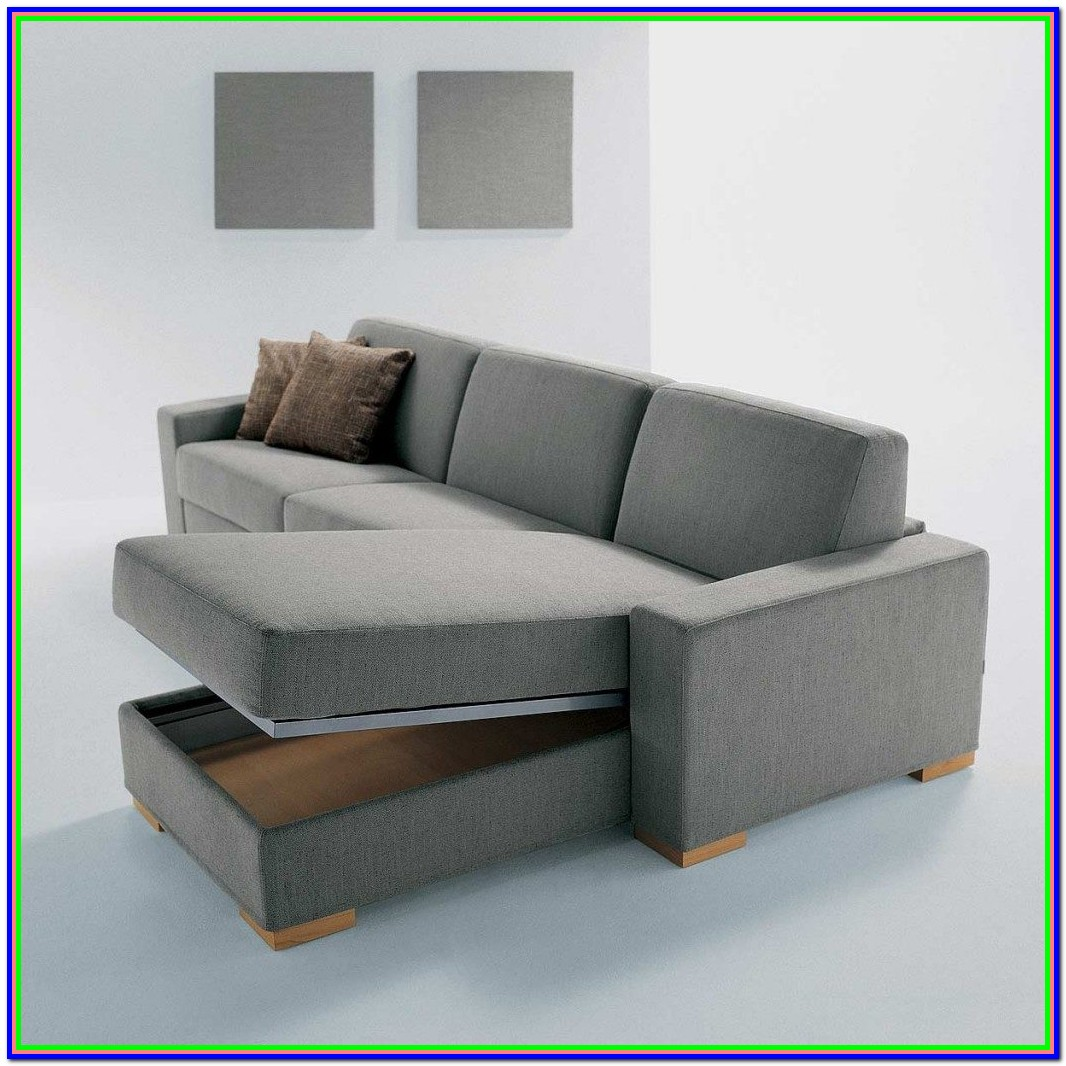 Convertible Sectional Storage Sofa Bed