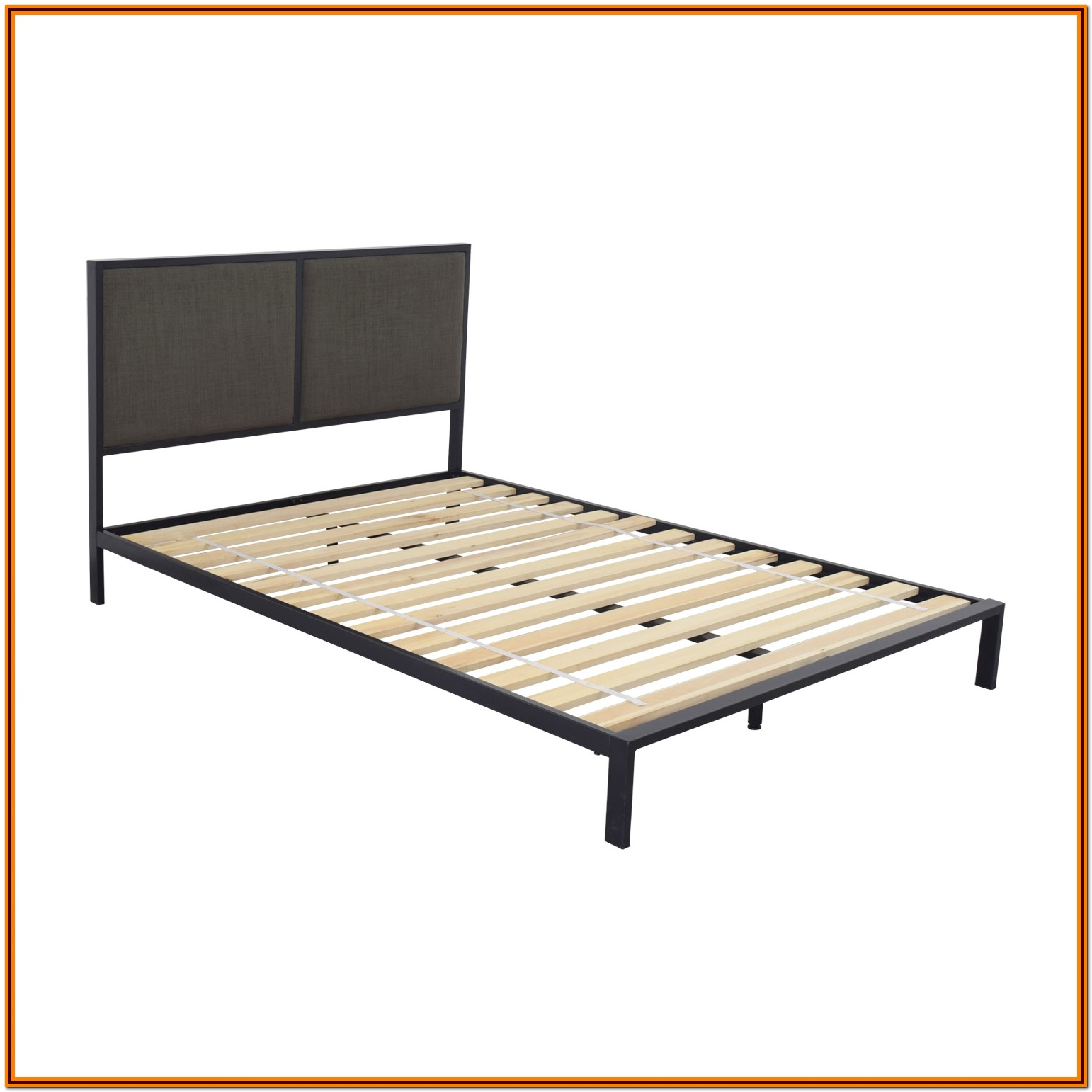 Crate And Barrel Bed Frame Full