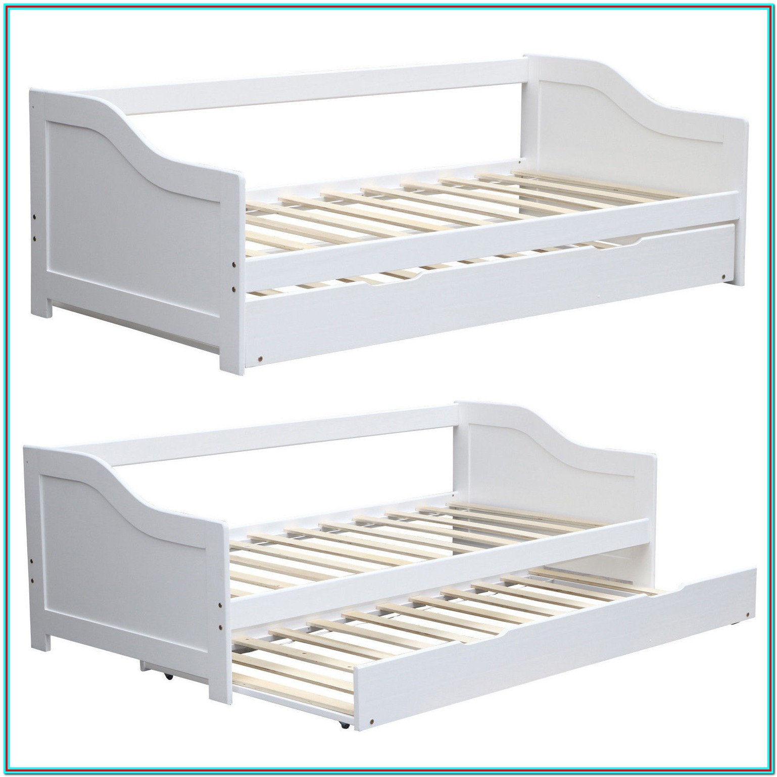 Daybed With Trundle And Storage Uk