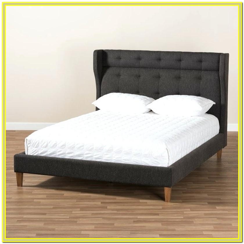 Dewsbury Mid Century King Upholstered Platform Bed