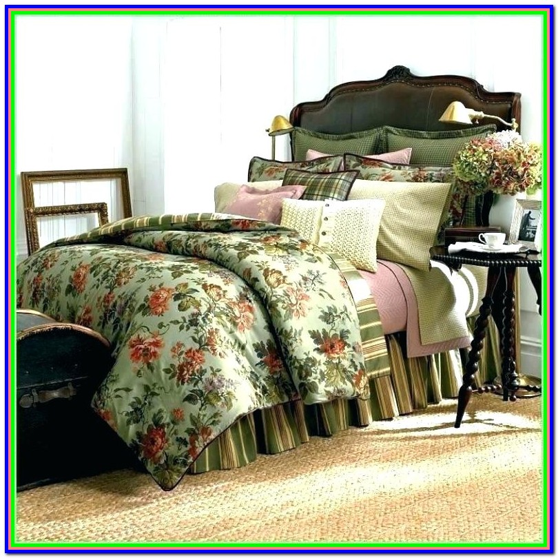Discontinued Ralph Lauren Paisley Bedding