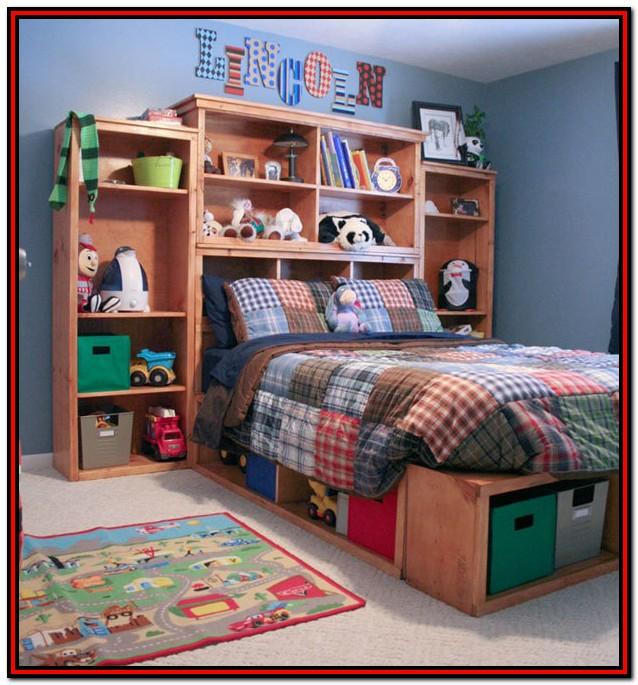 Diy Full Size Platform Bed With Storage Plans