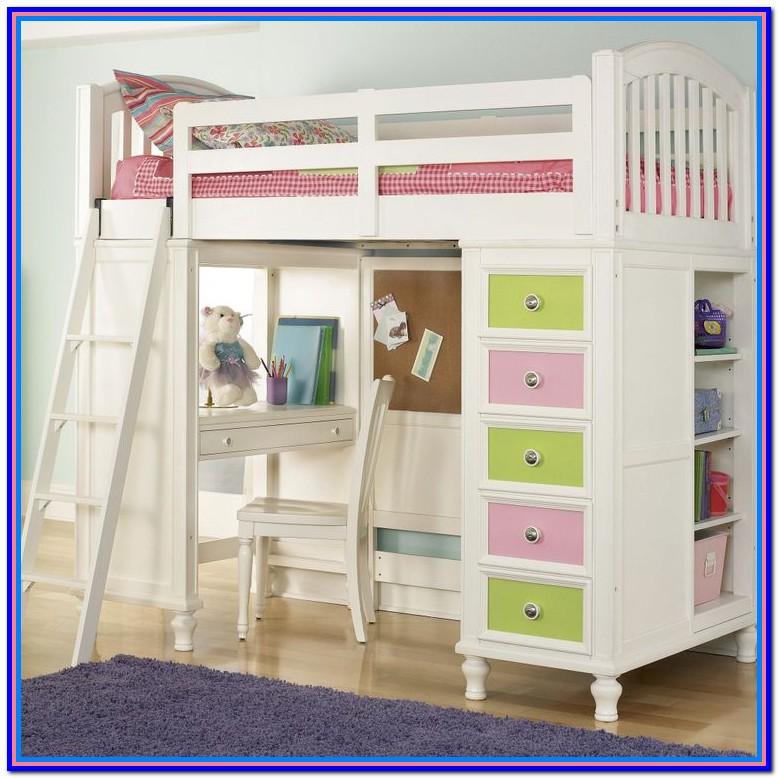 Diy Loft Bed With Storage Underneath