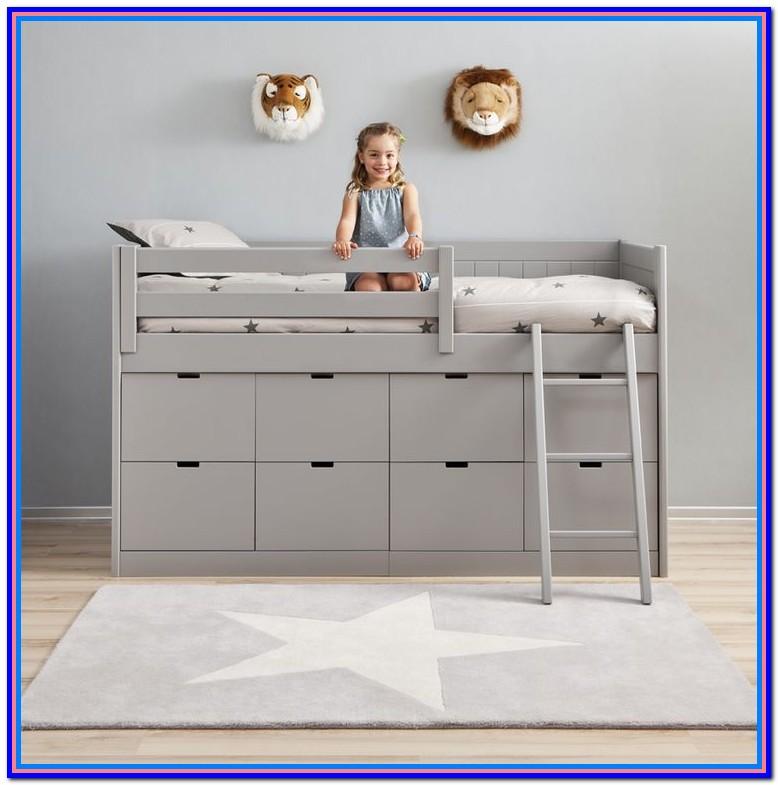 Diy Toddler Bed With Storage Underneath