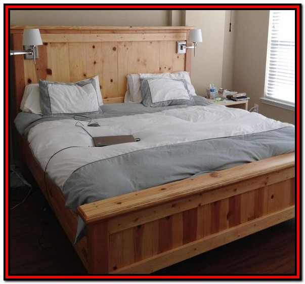 Easy Diy King Platform Bed Frame
