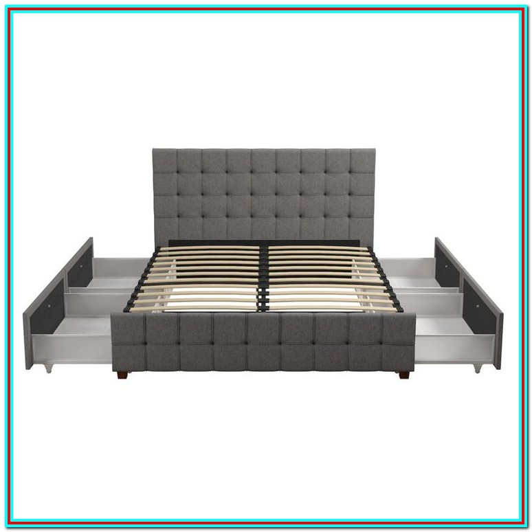 Elizabeth Upholstered Platform Bed With Storage