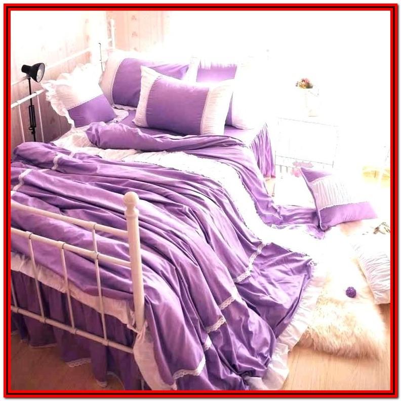 Full Size Bed Comforter Purple