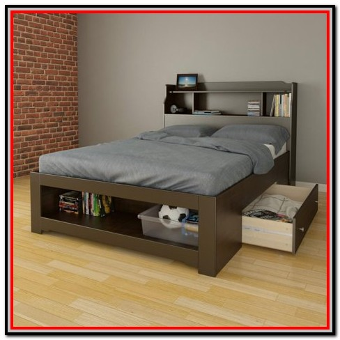 Full Size Bed With Storage Walmart