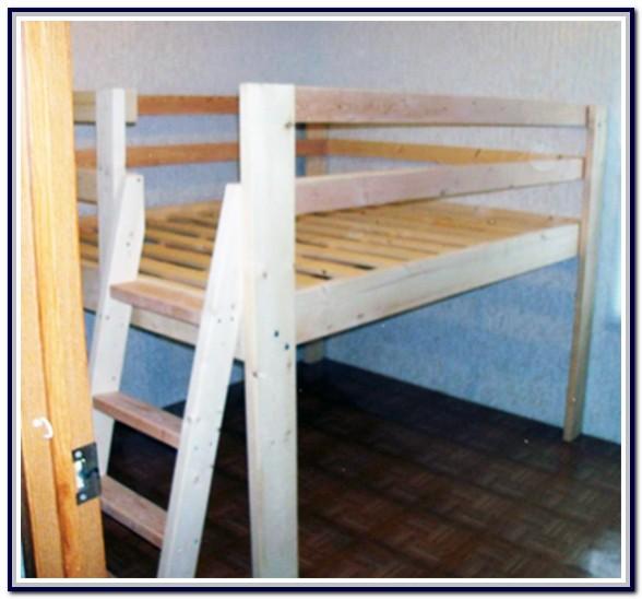 Full Size Loft Bed Plans Diy