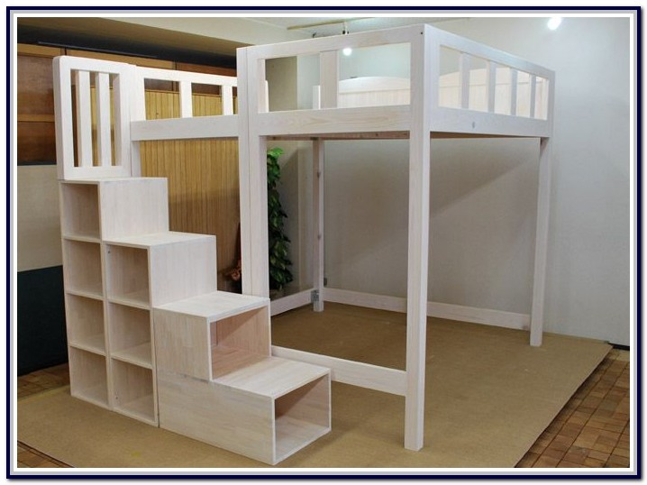 Full Size Loft Bed Plans Free