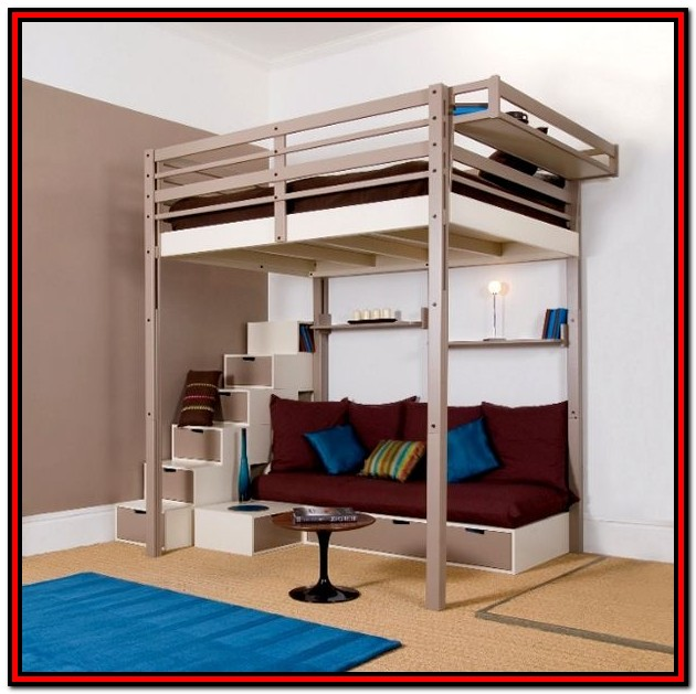 Full Size Low Loft Beds For Adults