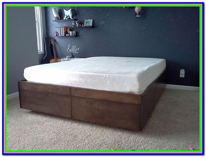 Full Size Platform Bed Diy