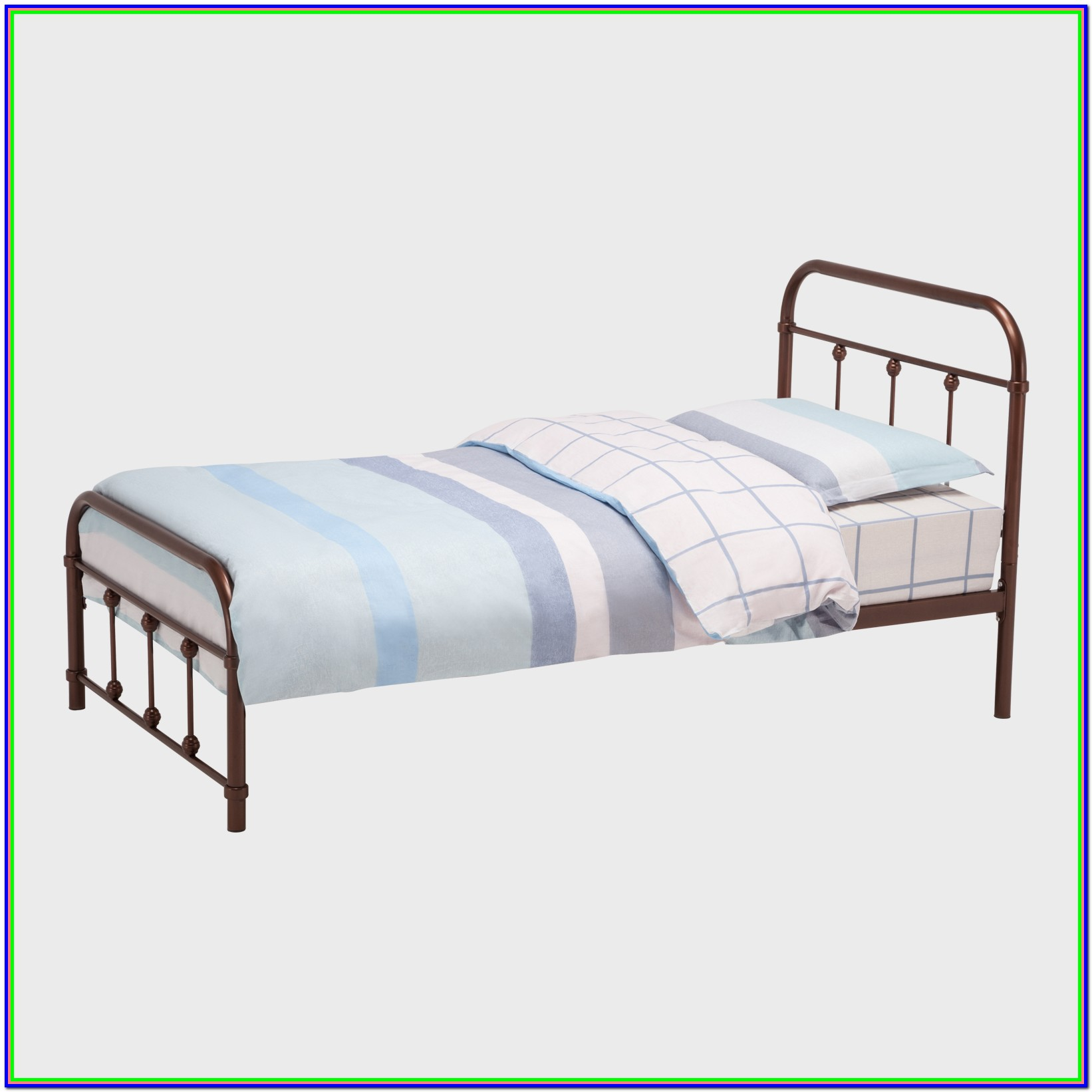 Full Size Platform Bed Frame With Headboard