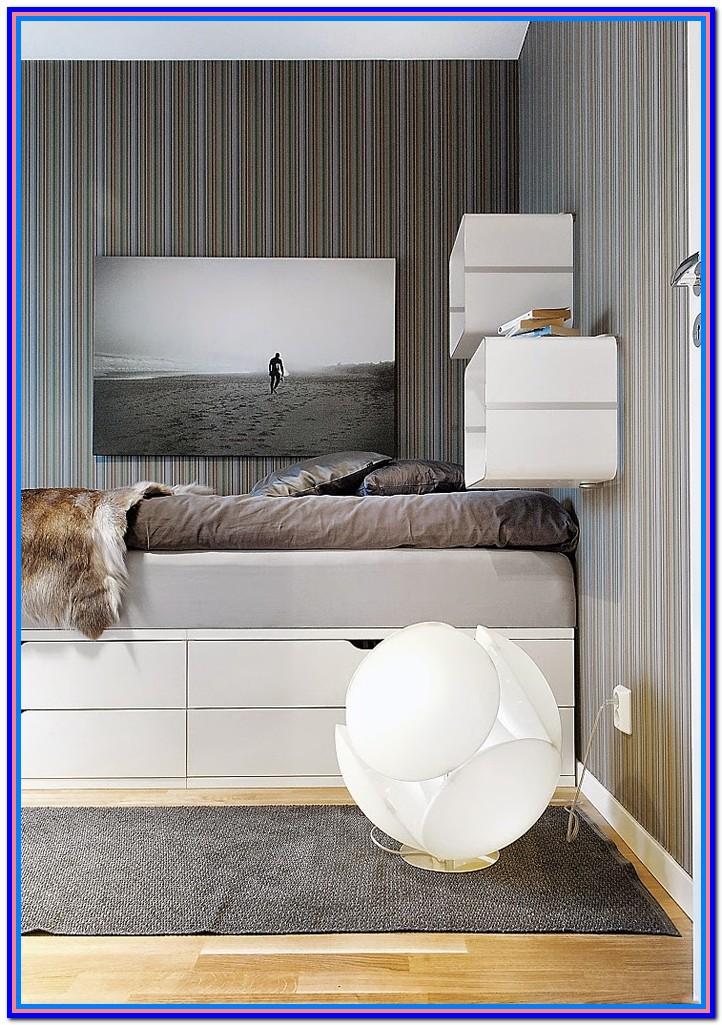 Full Size Platform Bed Ikea Hack