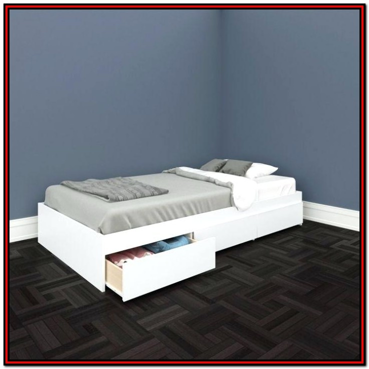 Full Size Platform Bed With Storage Ikea
