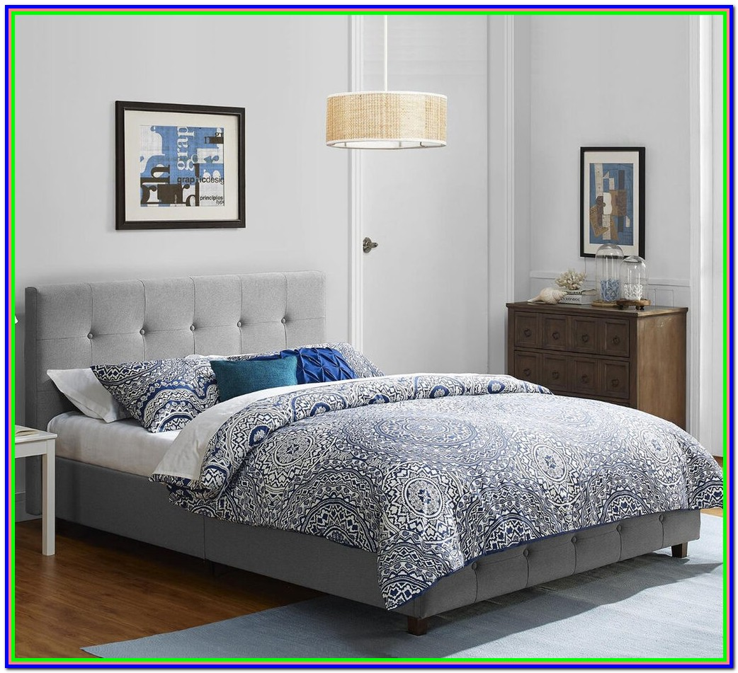 Full Size Platform Beds With Headboards