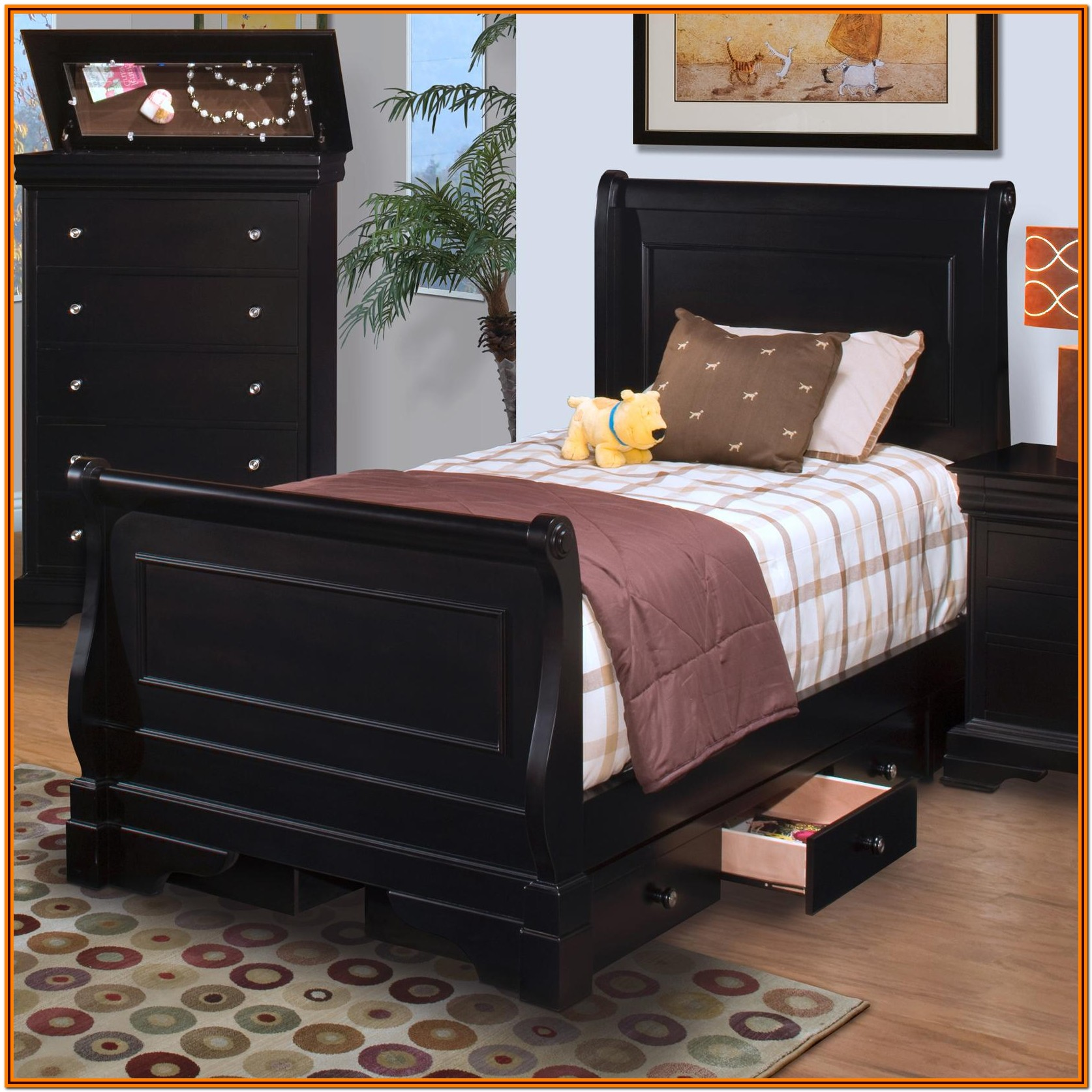 Full Size Sleigh Bed Dimensions