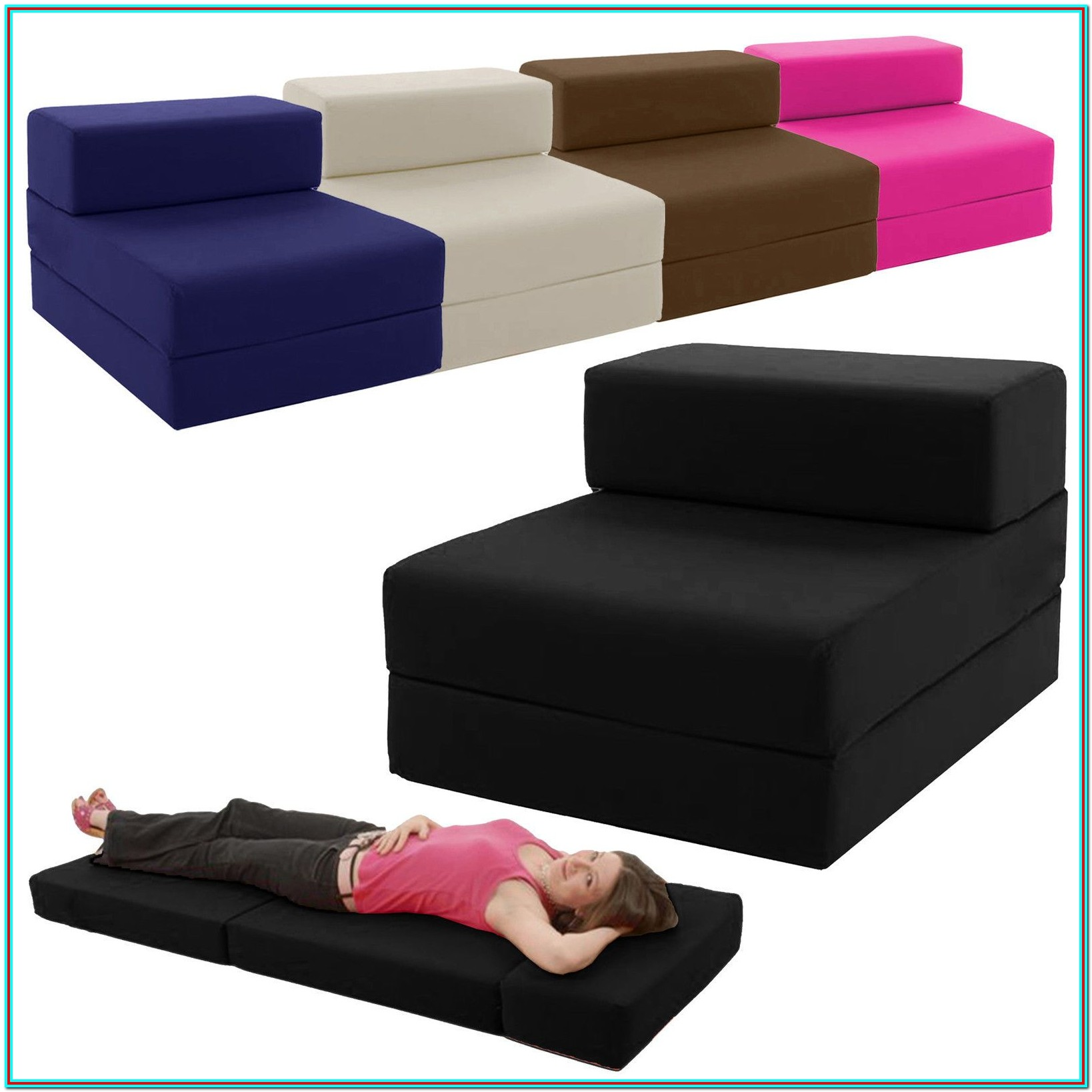 Furniture Sleeper Chair Folding Foam Bed