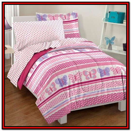 Girl Twin Bed In A Bag Sets