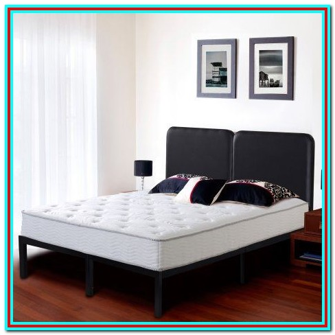 Heavy Duty Bed Frame Queen With Headboard