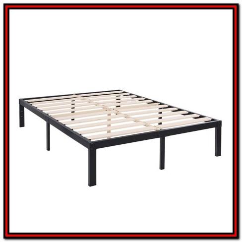 Heavy Duty Wood Bed Frame King