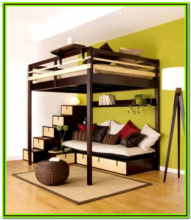 How To Build A Loft Bed For A Full Size Mattress